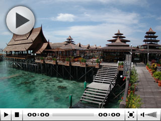 Mabul Water Bungalows, near Sipadan Island