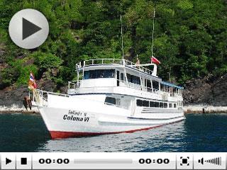 Thailand liveaboard, MV Colona VI