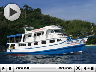 Myanmar liveaboard, the Dolphin Queen