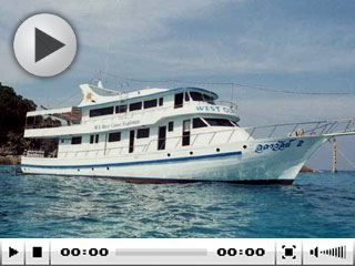 Thailand diving cruises onboard the MV West Coast Explorer