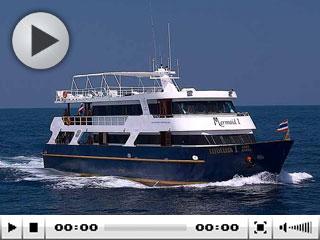 Komodo liveaboard from Bali, the MV Mermaid I