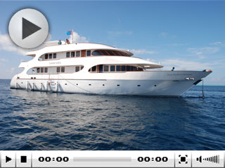 The luxury Maldive Islands liveaboard, MV Carpe Diem