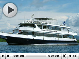 The Mergui liveaboard, Thailand Aggressor