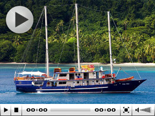 Fiji liveaboard Tui Tai sailing around Taveuni