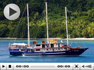 Fiji liveaboard Tui Tai sailing around Taveuni