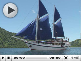 The Indonesia liveaboard, Indo Aggressor at Sumbawa