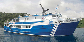 Okeanos Aggressor II takes you cruising to Cocos Island