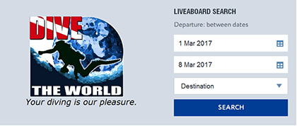 Dive The World Facebook plug-in on our Facebook page