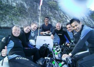 Diving at Cocos Island, Costa Rica - photo courtesy of Don Grant
