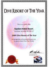 Dive The World Annual Dive Resort of the Year Award