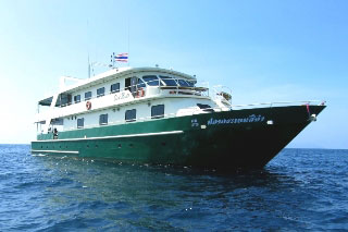 West Papua liveaboard, the Black Manta, Indonesia