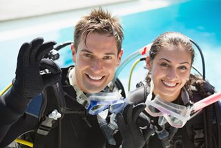 Learning to dive the PADI way