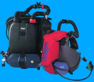 PADI Semi-closed Re-breather Drager Ray Specialty Course