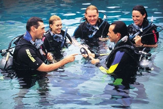 PADI Scuba Diver Course with Dive The World