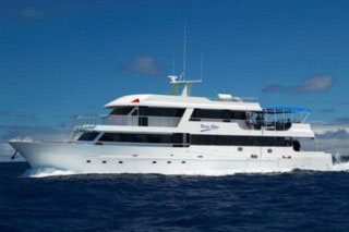 Galapagos diving cruises on Deep Blue
