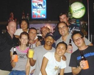 Dive The World staff meeting, Phuket, Thailand