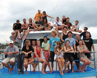 Another successful Thailand liveaboard cruise comes to an end