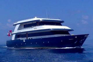 MV Eagle Ray - liveaboard in the Maldives