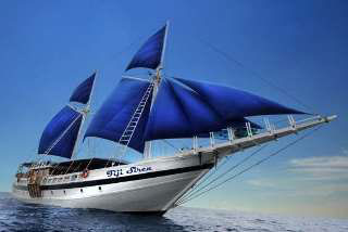 Liveaboard diving on the Fiji Siren