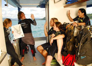 Loads of Phi Phi diving fun aboard the MV Greta