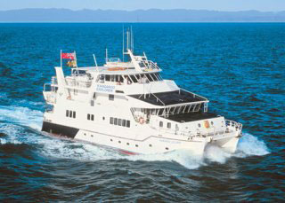 Cairns liveaboard, MV Kangaroo Explorer