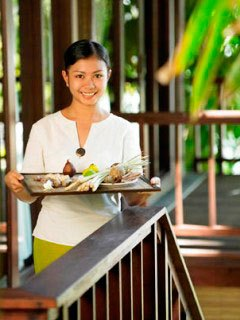 The genuinely warm service at Kima Bajo Resort