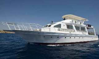 Red Sea liveaboard, the MY King Snefro 6 in the Sinai Peninsula