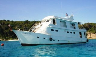 MV Le Mahé - one of the popular low price Similan liveaboards