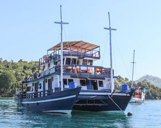 Indonesian liveaboard diving charters in Komodo with the Mastro Aldo