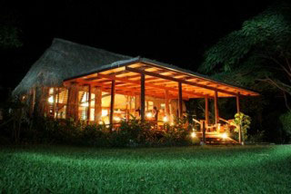 The communal area at Matava Resort, Kadavu Island, Fiji