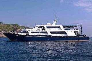 The Mermaid II Komodo liveaboard