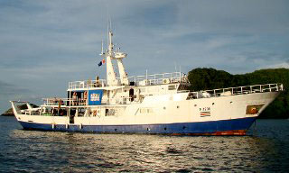 Okeanos Aggressor I - one of the professional Cocos Island liveaboards