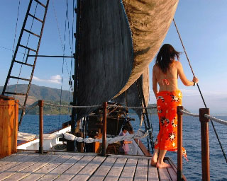 A liveaboard vacation in Indonesia onboard Ondina