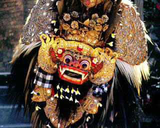 Traditioneller Barong Tanz