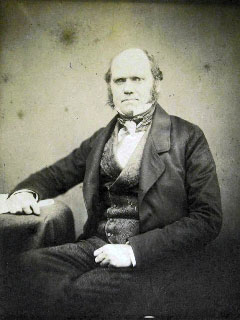 Charles Darwin in 1855, aged 46