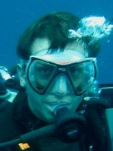 Enrico, Dive The World Verkaufsteam, Blasen machen in Thailand