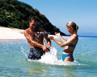 Fiji is a popular scuba diving vacation getaway for families and couples - photo courtesy of the Fiji Visitors Bureau