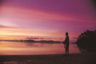 Another glorious Fijian sunset - photo courtesy of Fiji Visitors Bureau
