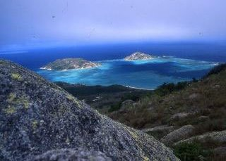 Lizard Island is in the north of the Great Barrier Reef Marine Park