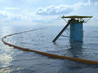 The Ocean Cleanup Array
