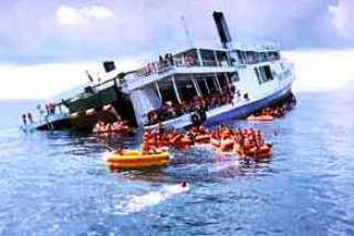 The unfortunate and unexpected sinking of Kingcruiser (now wreck) - accidents happen!, Phuket scuba diving with Dive The World Thailand