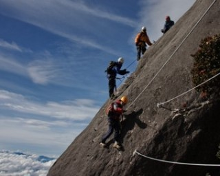 Climb Mount Kinabalu in Borneo and attempt Via Ferrata
