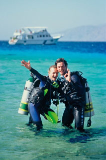 Be a happy diver, don't leave home without dive insurance - photo courtesy of PADI