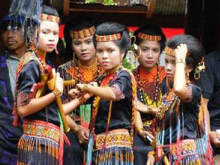 Traditional Sulawesi dress code in Toraja