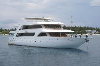The Princess Haleema, a Maldive Islands liveaboard dive boat