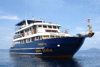 The MV Queen Scuba Komodo liveaboard