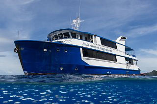 Indonesia liveaboard diving tours with the Raja Ampat Aggressor