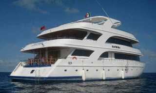 The Maldives liveaboard, MY Sachika
