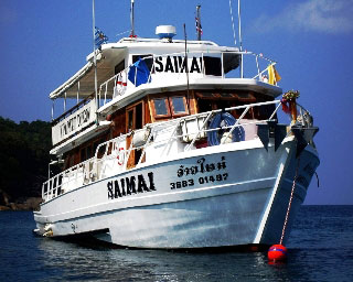 The Sai Mai has been running Myanmar liveaboard diving trips to the Mergui Archipelago for many years