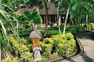 Entrance to Saya Resort, Tulamben, Bali